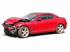 auto po wypadku komunikacyjnym