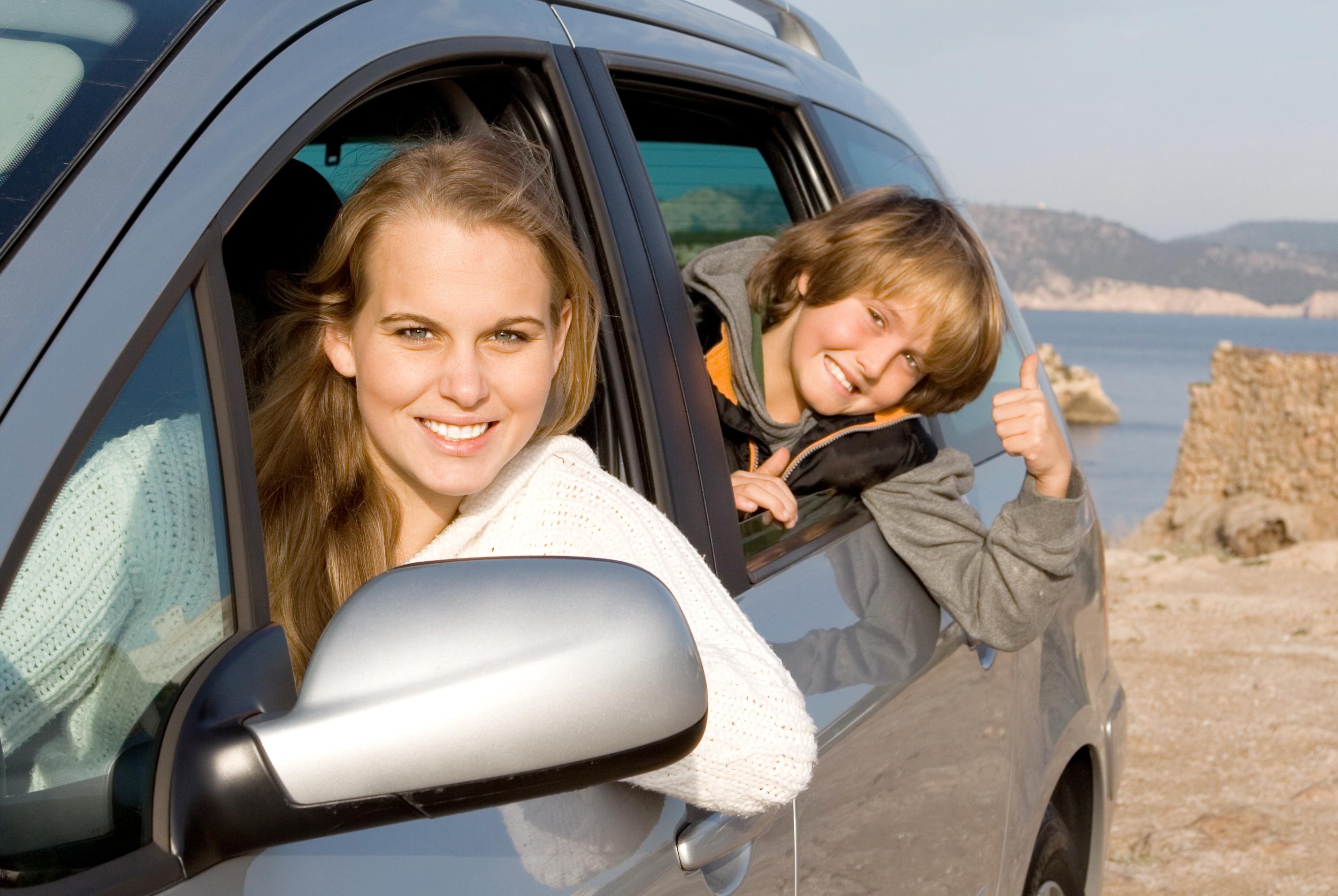 wynajem samochodu na wakacje z rodzina